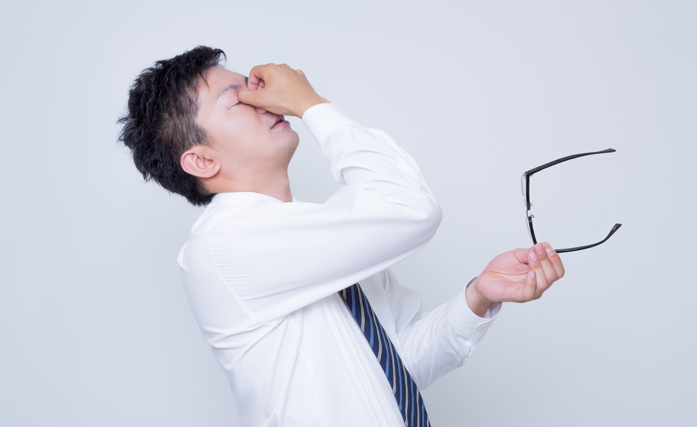目の疲れ 解消